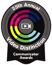 Communicator Award for Immersive Video